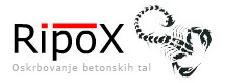 RipoX – oblaganje tal in sten, Risto Dragić s.p. Logo